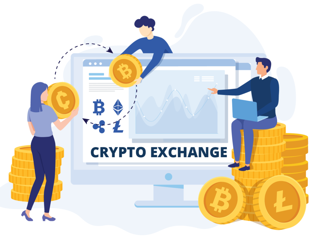 Online Cryptocurrency Exchange